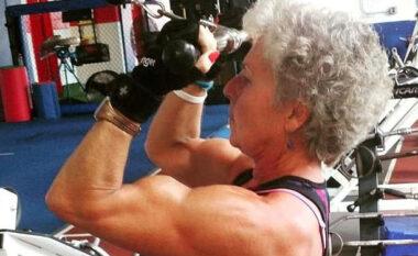 71-vjeçarja që bën 20 orë në javë palestër tregon sekretet e saj (FOTO LAJM)