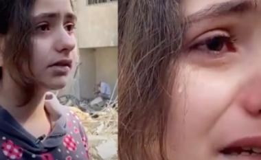 Vajza 10 vjeçe nga Palestina qan me lot: Pse na e bëni këtë gjë (VIDEO)