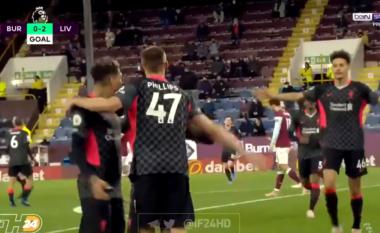 Liverpooli dyfishon rezultatin ndaj Burnley (VIDEO)