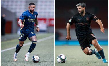 Depay dhe Aguero, të çmendur për t'iu bashkuar Barcelonës