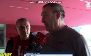 """""""Teuta kampion, donim vetëm Europën"""", deklarata e presidentit të Laçit që po bënë bujë (VIDEO)"""