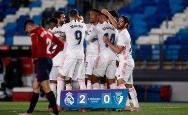 Reali nuk gabon, mposht Osasunan dhe shkon -2 nga Atletico (VIDEO)