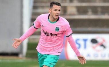 Rey Manaj nuk ka ndërmend të ndalet, shënon tjetër gol për Barcelonën