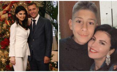 """""""Djali im"""", urimi i përzemërt i Rudina Dembacaj për të birin e Mark Frrokut (FOTO LAJM)"""