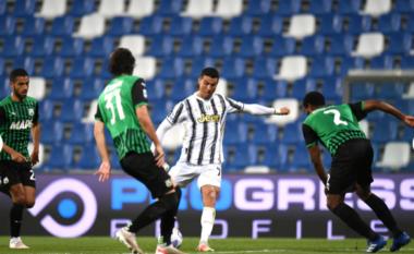 Ronaldo arrin 100 gola me Juven dhe vendos dy rekorde të mëdha (FOTO LAJM)