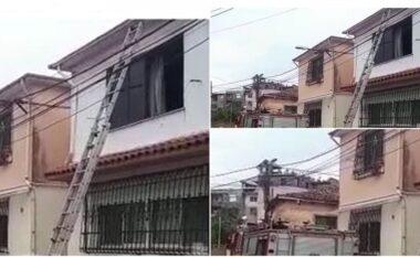 Shpërthen bombola e gazit në Shodër, banesa përfshihet nga flakët