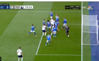 Tottenham barazon rezultatin, Licester rrezikon pjesëmarrjen në Champions (VIDEO)