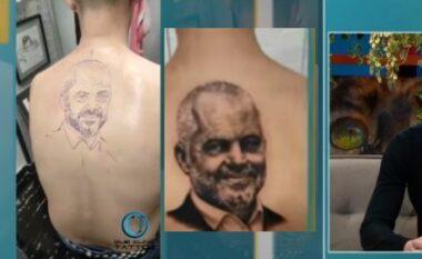 """""""Të flesh"""" çdo natë me Ramën, flet djali që bëri tatuazhin: Pjesa më e vështirë e portretit (VIDEO)"""