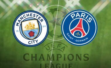 Manchester City-PSG, formacionet zyrtare, Mbappe e nis nga stoli