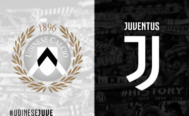 Udinese – Juventus, formacionet zyrtare