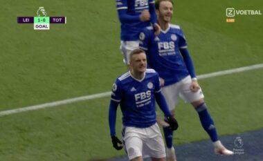 Licester City zhbllokon rezultatin ndaj Tottenham (VIDEO)