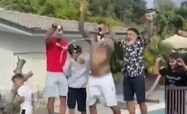 """Vidal feston si i """"çmendur"""" titullin me Interin (VIDEO)"""