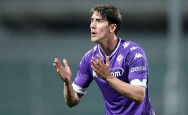"""Po jep maksimumin te Fiorentina, Vlahoviç në """"radarët"""" e Man. United dhe Liverpool"""