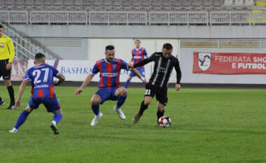 Vllaznia ndëshkon Laçin (VIDEO)
