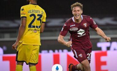 Shënoi golin e parë në Serie A me Torinon, trajneri Nicola: Jam i lumtur për Vojvodën