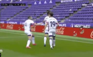 Valladolid kalon në avantazh ndaj Atletico Madridit (VIDEO)