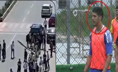 """I preu rrugën makina e i mori jetën, videoja ku Xubi i Yzberishtit """"fluturon në ajër"""" (VIDEO)"""