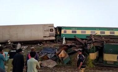 Përplasen trenat ekspres në Pakistan, 43 të vdekur dhe mbi 100 të plagosur
