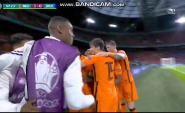 Spektakël në Amsterdam Arena, ka sërish gol në ndeshjen Hollandë-Ukrainë (VIDEO)