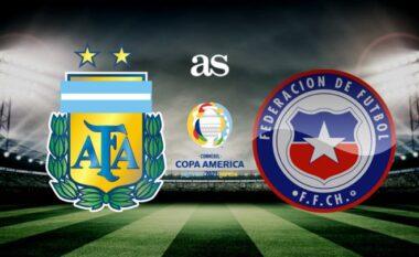 Copa America: Formacionet zyrtare, Argjentinë-Kili