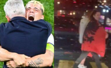 """""""Ke flamurin e gabuar me vete"""", tifozja shqiptare i bën diss policisë zviceriane (VIDEO)"""