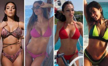 Nga Georgina te Jessica, këto janë të dashurat e futbollistëve në Euro 2020 (VIDEO)