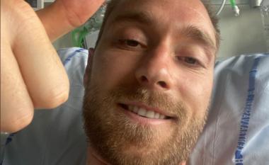 Më në fund Eriksen thyen heshtjen nga spitali: Ndihem mirë, faleminderit për të gjitha mesazhet e mira (FOTO LAJM)