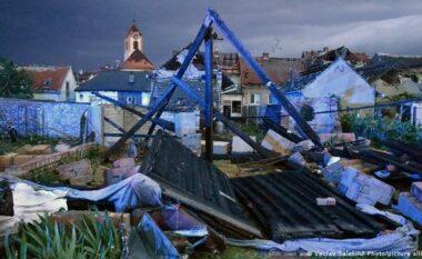 Pamje të frikshme: Tornado godet Çekinë, 150 të plagosur dhe dëme të mëdha (VIDEO)