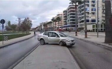 Makina përplas këmbësoren në Lungomare