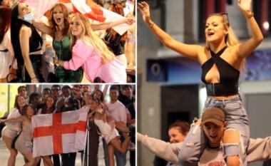 """Rikthehen festat e """"shfrenuara"""" të të rinjve britanikë, mbushin rrugët të dehur e të zhveshur (FOTO LAJM)"""