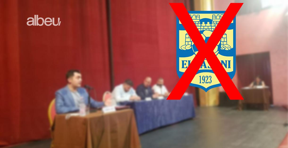 Ekipi aktual drejt shkrirjes, Elbasani krijon klubin e ri të futbollit