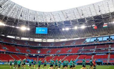 Hungaria pret Ronaldon në stadium me 61.000 persona, Budapesti bën jetë normale