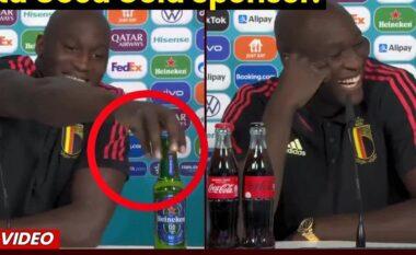 Ka anti-reklamë, por ka dhe anti-Ronaldo: Lukaku i bën thirrje Coca-Colës (VIDEO)