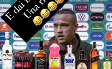 Për inat të Ronaldo dhe Pogbasë, Nainggolan e mbush tavolinën me pije alkoolike (FOTO LAJM)