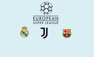 UEFA pezullon hetimet ndaj Juves, Barçës dhe Realit për rastin e Superligës (FOTO LAJM)