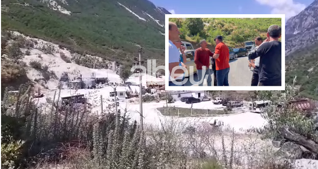 Përplasje mes banorëve dhe punonjësve të firmës në Tepelenë, Auron Tare në komisariat