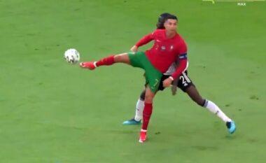 36 vjeç por çfarë klasi ka Ronaldo! Shikoni si turpëron futbollistin e Gjermanisë (VIDEO)