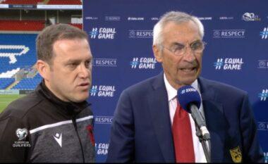 Edi Reja flet pas ndeshjes me Uellsin: Kjo gjë nuk shkoi