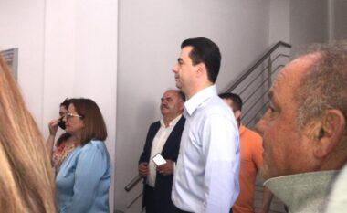 Gara në PD, Lulzim Basha voton i pari mes kandidatëve