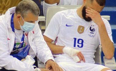 Lajm i mirë për Francën në prag Euro 2020: Dëmtimi i Benzemas nuk është serioz