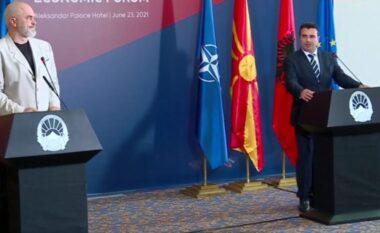 """LIVE/ Morëm """"JO"""" për negociatat, Rama konferencë me kryeministrin Zoran Zaev (VIDEO)"""