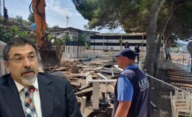 Shemben 35 ndërtime pa leje në bregdet,Çuçi: Ky është vetëm fillimi