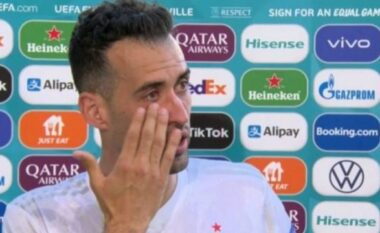 """Spanja kaloi grupin në Euro 2020, Busquets """"shpërthen"""" në lot pas ndeshjes"""