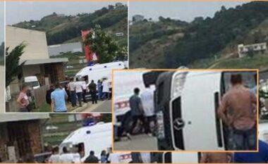 Aksident i frikshëm në Vorë, pëmbyset mes rrugës furgoni me pasagjerë