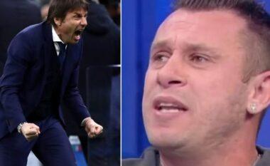 Cassano: Conte fiton dhe pastaj ikën, diçka nuk shkon
