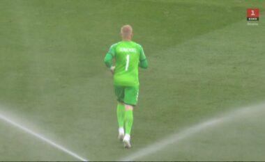 Mbyllet në barazim pa gola pjesa e parë mes Danimarkës dhe Finlandës