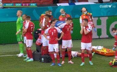 Njofton UEFA: Emergjencë mjekësore, suspendohet ndeshja mes Danimarkës dhe Finlandës