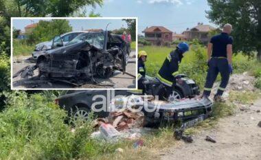 Policia jep detaje nga aksidenti në Elbasan, mes të plagosurve një fëmijë