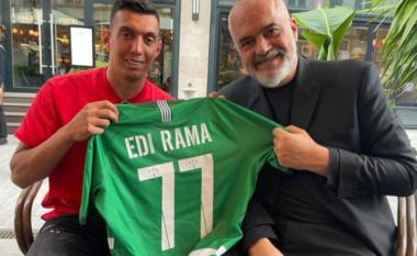 """""""Guxoi t'i bënte gol Juves"""", Rama viziton yllin e Kombëtares në Hungari (FOTO LAJM)"""