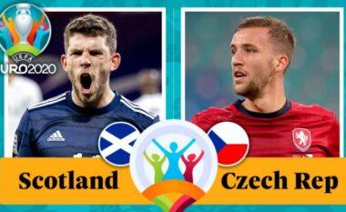 EURO 2020/ Skoci – Çeki, formacionet zyrtare
